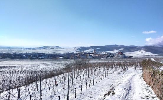 La neige est arrivée en Alsace !