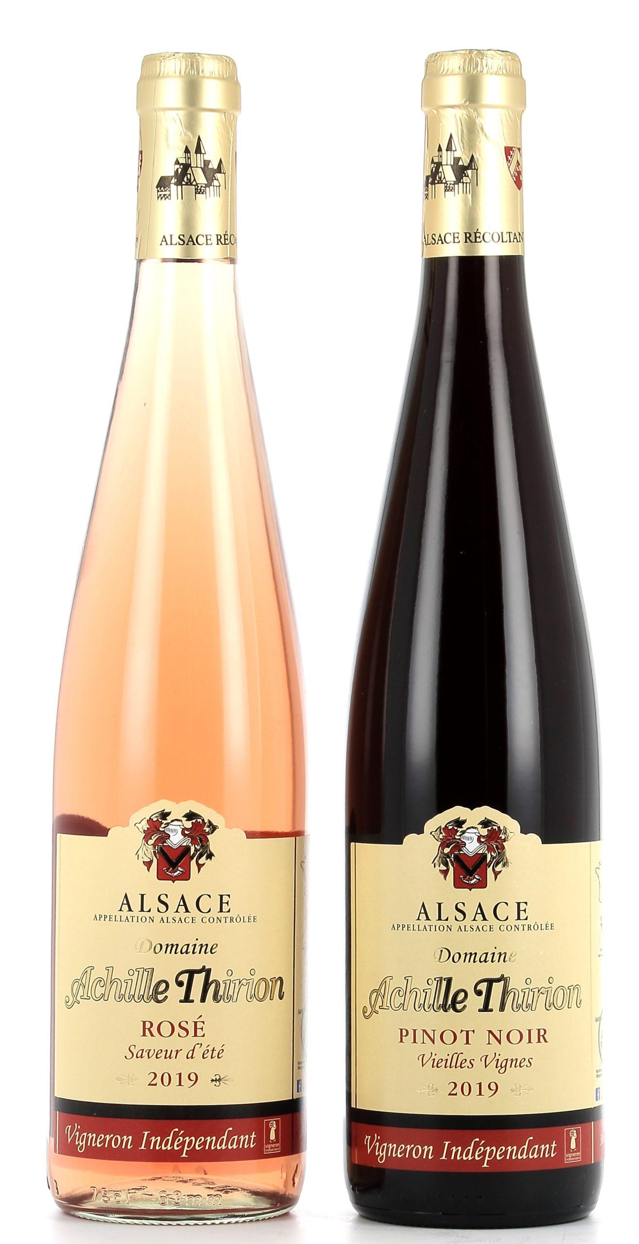 Vins rouges et Rosé